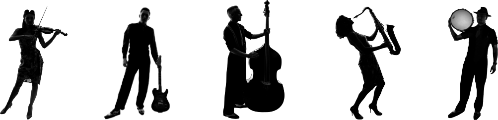 swing commanders full band silhouette