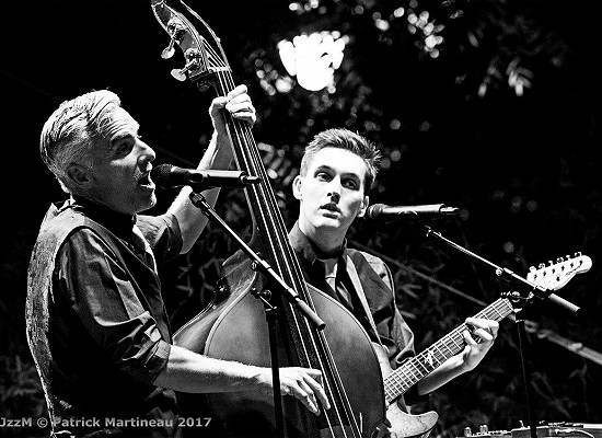 Peter Riley and Dan Smith of Swing Commanders